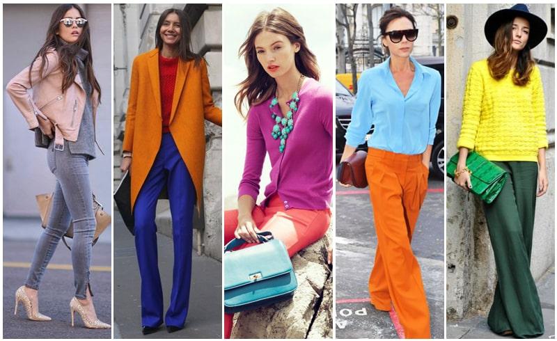ست کردن رنگ لباس